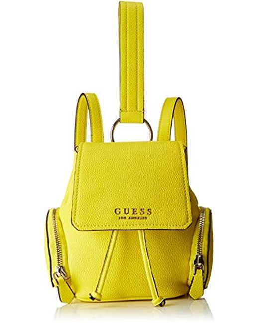 54247d52d01 Guess - Yellow Sally Backpack - Lyst ...