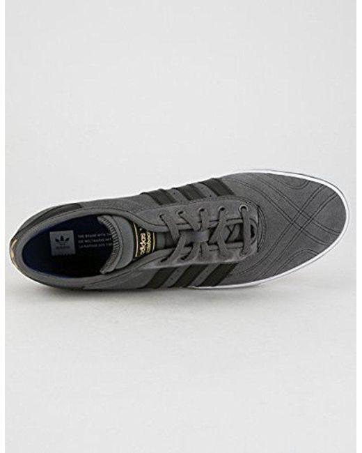 best service 6ac6c f202e adidas Originals. Mens Gray Adi-ease Premiere Fashion Sneaker