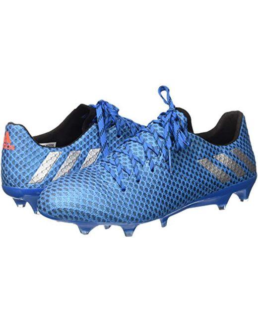 ... Adidas - Blue Messi 16.1 Fg Football Boots for Men - Lyst ... 95fcb390f24