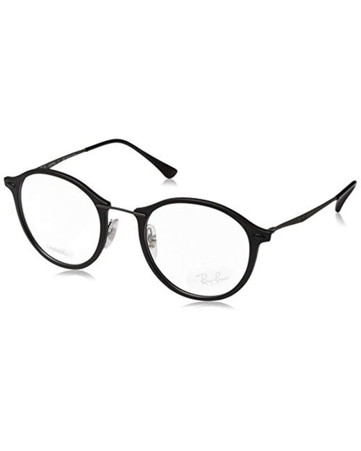 Ray-Ban - Black Optical RX7073 C49 for Men - Lyst