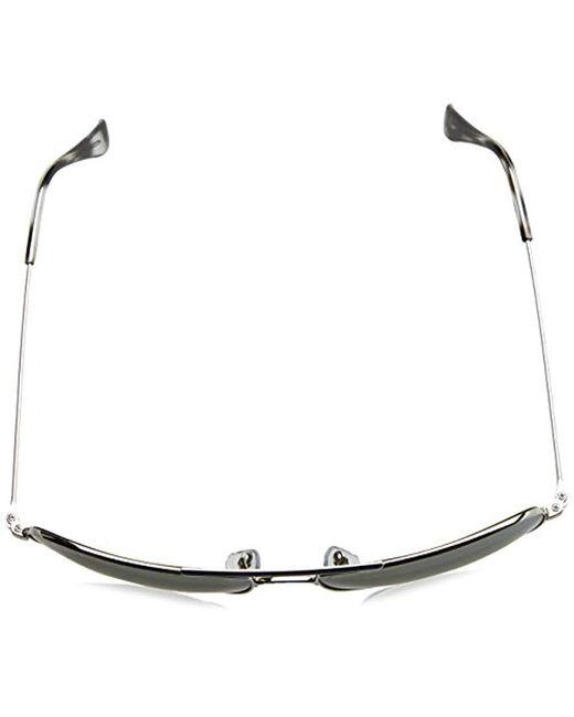 dc28cfcbdef ... Ray-Ban - Metallic Aviator Sunglasses In Silver Mirror Chromance  Polarised Rb3543 003 5j