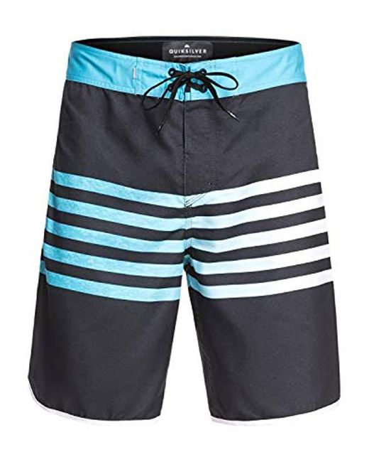 3f39e9a575 ... Quiksilver - Black Everyday Grass Roots 20 Boardshort Swim Trunk for Men  - Lyst ...