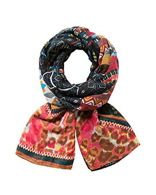 Desigual - Multicolor Scarf Rectangle Misha - Lyst