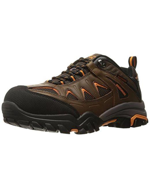 Skechers - Brown Delleker Work Boot for Men - Lyst