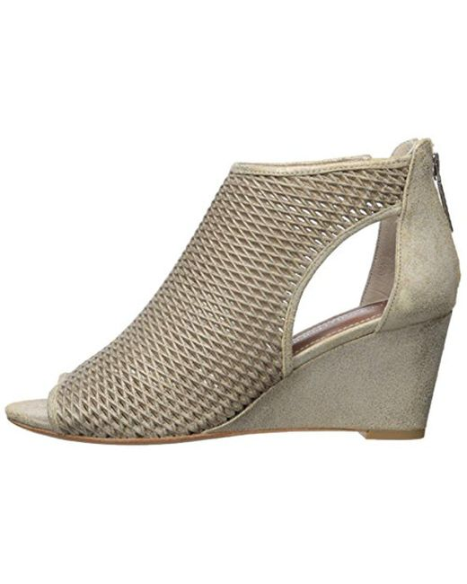 Donald Pliner Jace Snake Embossed Cutout Wedge Sandal 3gzv7