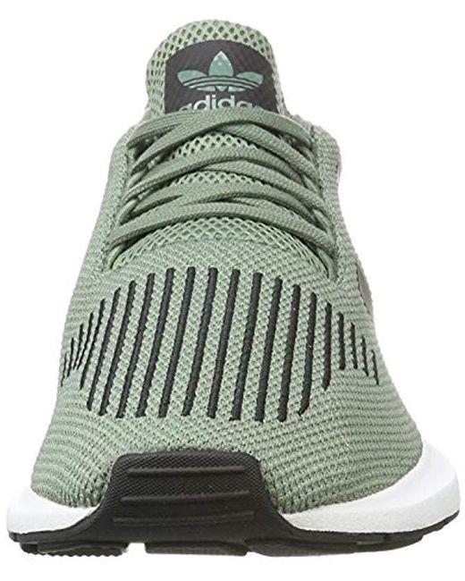 454fb3ea8 ... Adidas - Green Swift Run Trainers - Lyst ...
