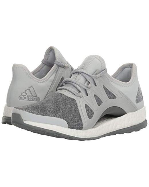 03cffd55a42a2 Lyst - adidas Performance Pureboost Xpose Running Shoe in Gray adidas  running pureboost xpose