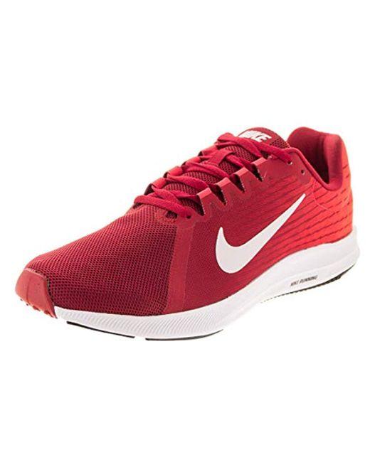 1da17ec2331118 Lyst - Nike Downshifter 8 Running Shoe in Red for Men - Save 50%