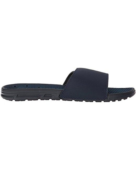 fdf731fab13 ... Quiksilver - Blue Amphibian Adjust Slide Sandal for Men - Lyst ...