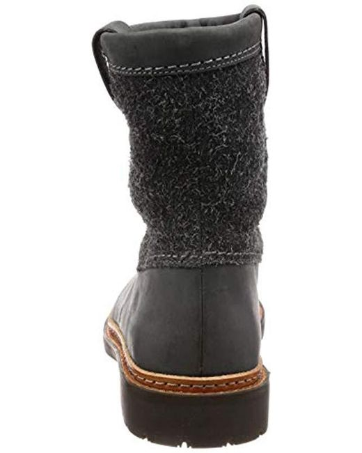 2242c0fcf3a82 ... Clarks - Gray Trace Fern Slouch Boots - Lyst ...