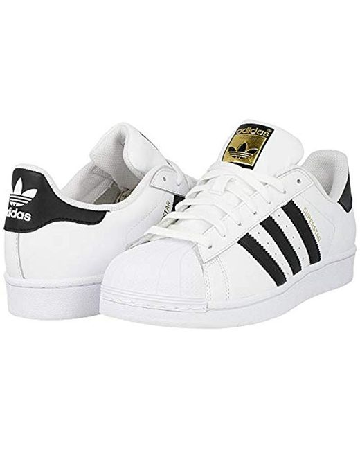 huge selection of 9b5d3 593ef Adidas - White Originals Superstar Foundation, Trainers for Men - Lyst ...