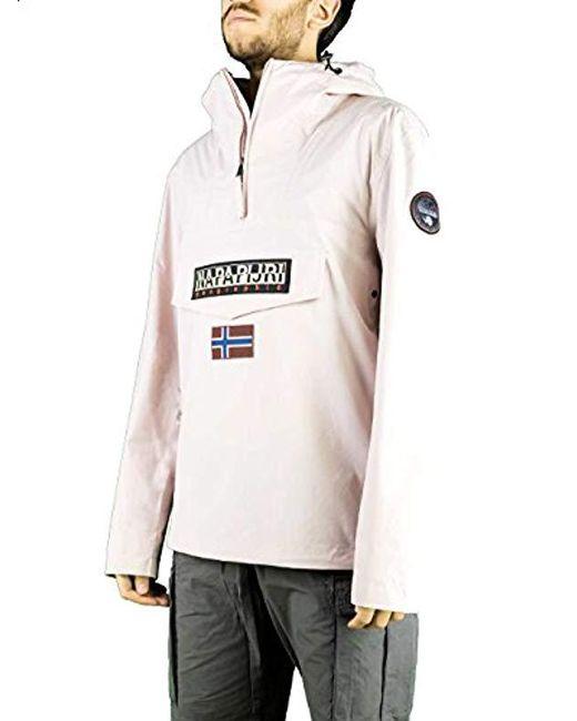 Napapijri - Pink Jacket for Men - Lyst