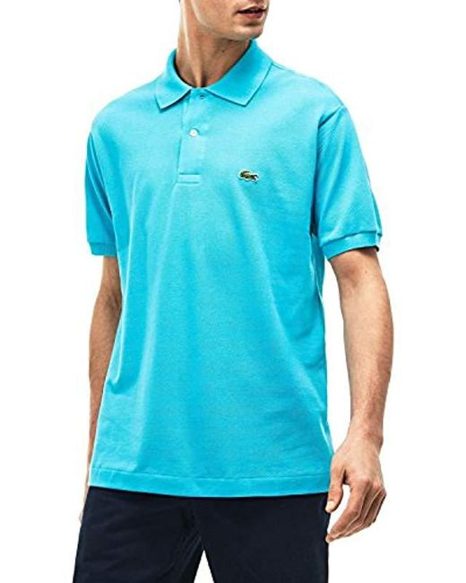 e981e352 Lacoste - Blue Polo Shirt for Men - Lyst ...