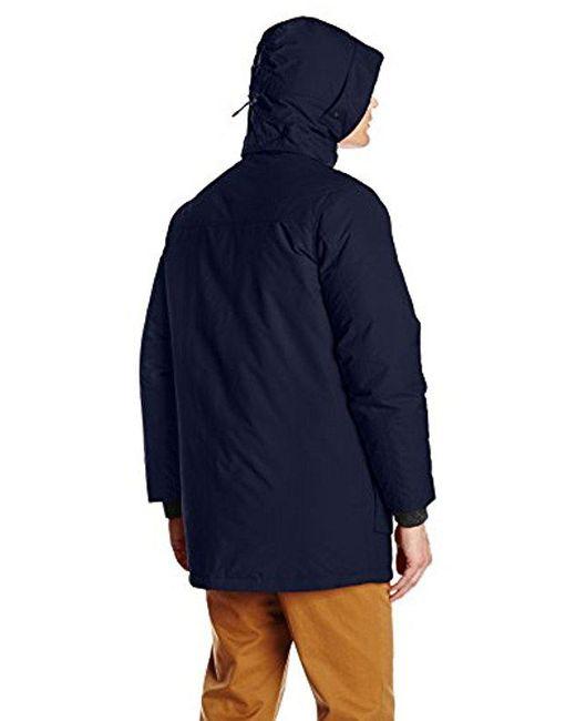 Patrol Coat Blue Woolrich For Men Lyst Down Parka In 5Tw1TqZR