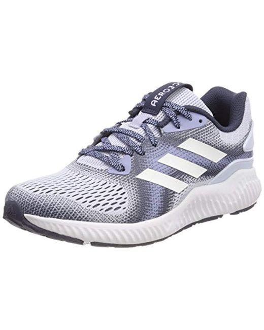 buy popular 54312 b9a91 Adidas - Blue Aerobounce St Running Shoes - Lyst ...