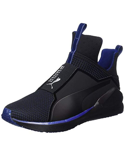 e924a70fd0e PUMA - Black Fierce Velvet Vr Fitness Shoes - Lyst ...
