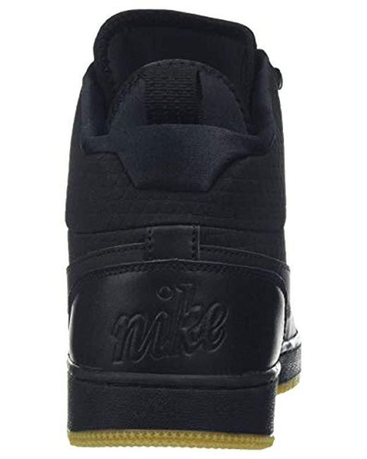 35b3af0db6 ... Nike - Black Ebernon Mid Winter Gymnastics Shoes for Men - Lyst ...