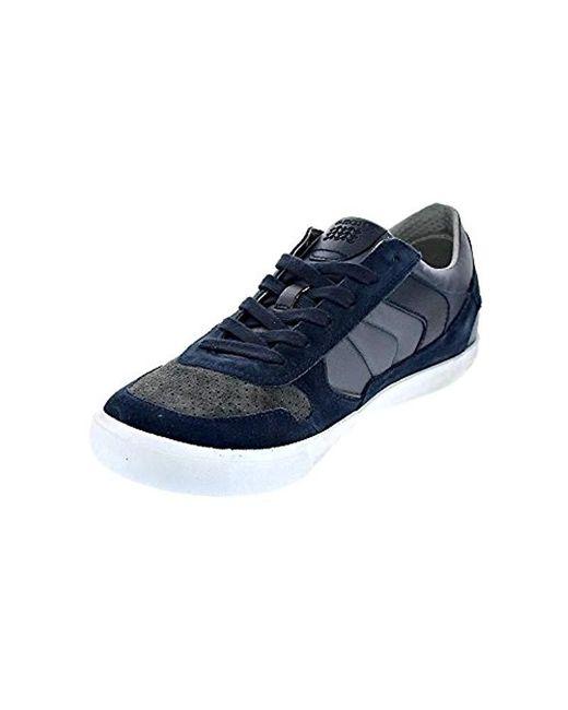 d9552fadb3951 Geox U Box C Trainers in Blue for Men - Save 1% - Lyst