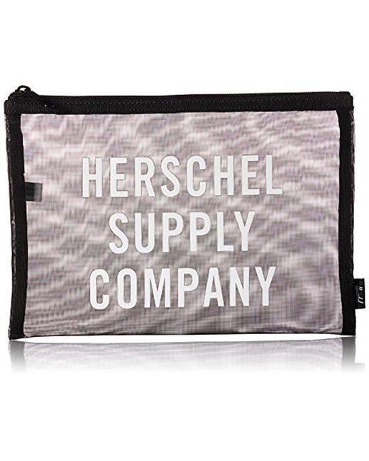 Herschel Supply Co. - Black Network Pouch - Lyst
