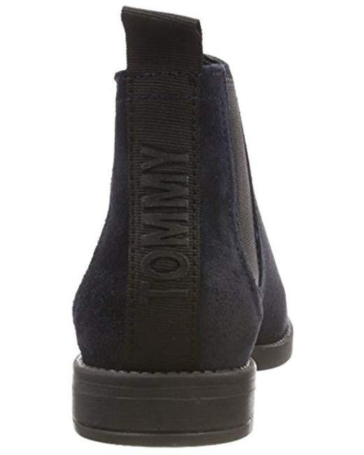 36f4d0512 ... Tommy Hilfiger - Blue Essential Chelsea Boot - Lyst ...