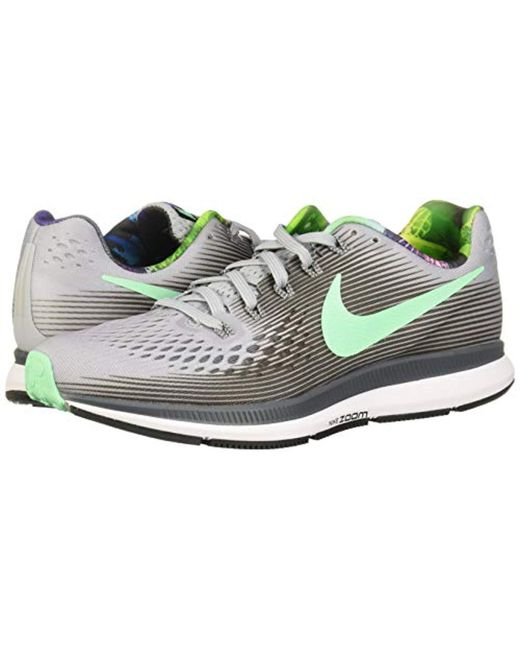 322091fb51054 ... Nike - Gray Wmns Air Zoom Pegasus 34 Running Shoes - Lyst ...