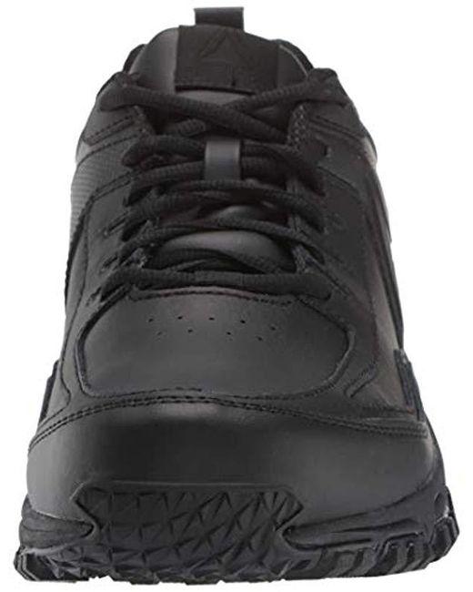 0aa834b5b0b ... Reebok - Black Ridgerider Leather 4e Sneaker for Men - Lyst ...