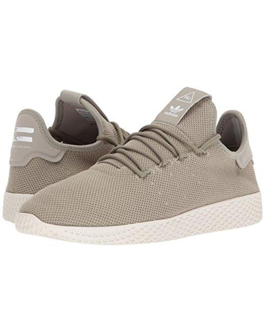 lyst adidas originali adidas pw hu scarpa da tennis in naturale per gli uomini