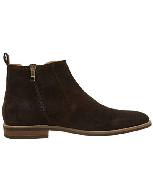 74b34dbfd Tommy Hilfiger  s Essential Suede Chelsea Boot in Brown for Men - Lyst