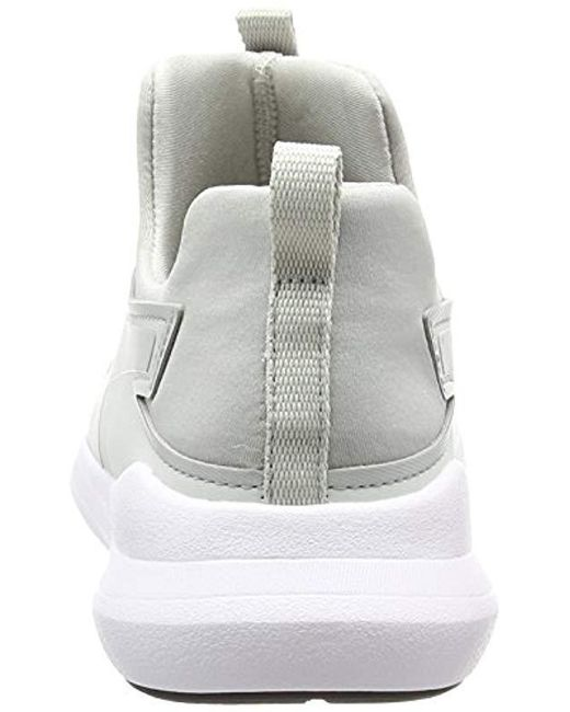4c662ce0f472 ... PUMA - Gray Rebel Mid Wns Low-top Sneakers - Lyst ...