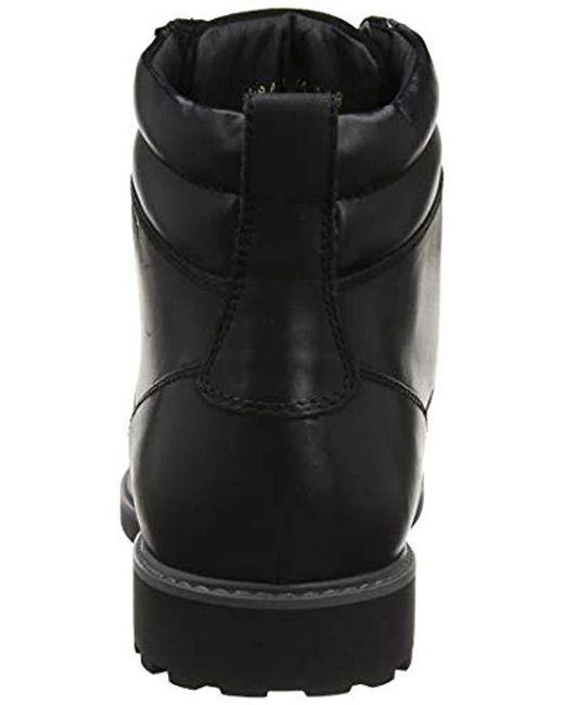 72d9fa1a Geox U Norwolk B Chukka Boots in Black for Men - Save 17% - Lyst
