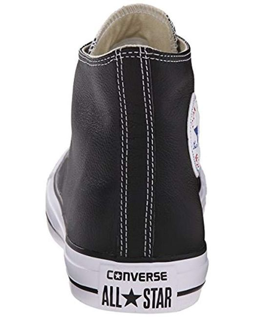 bdba3d1ee19c69 ... Converse - Black Unisex Adults  Chuck Taylor All Star High Outdoor  Sports Shoes ...