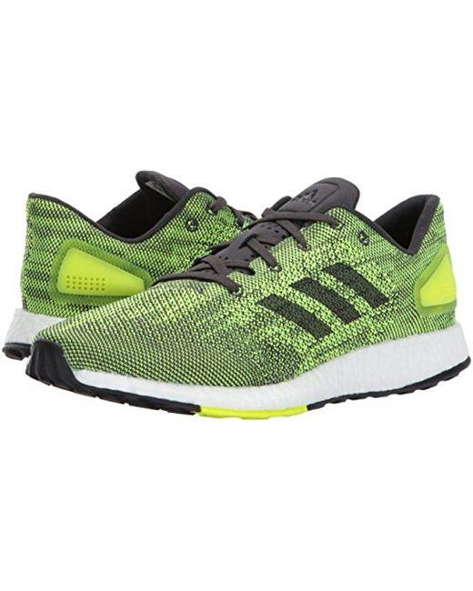 16e8871c2 ... Adidas - Green Pureboost Dpr Running Shoe for Men - Lyst ...