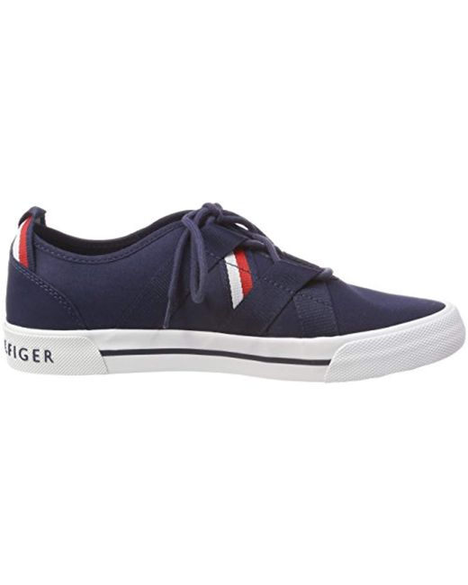 0abee84659bd6 ... Tommy Hilfiger - Blue Heritage Open Lace Up Sneaker Low-top - Lyst ...