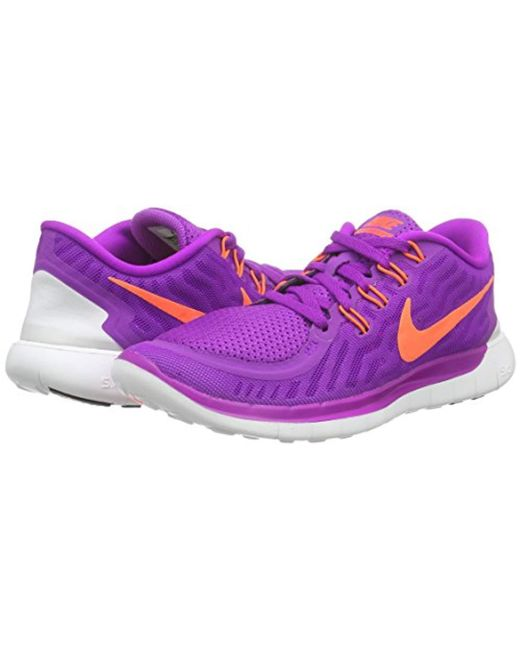 differently 4032e c1518 ... Nike - Purple  s Free 5.0 Running Shoes ...