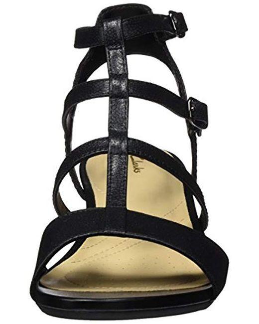 50c494d1e53 ... Clarks - Black Parram Spice Gladiator Sandals - Lyst ...