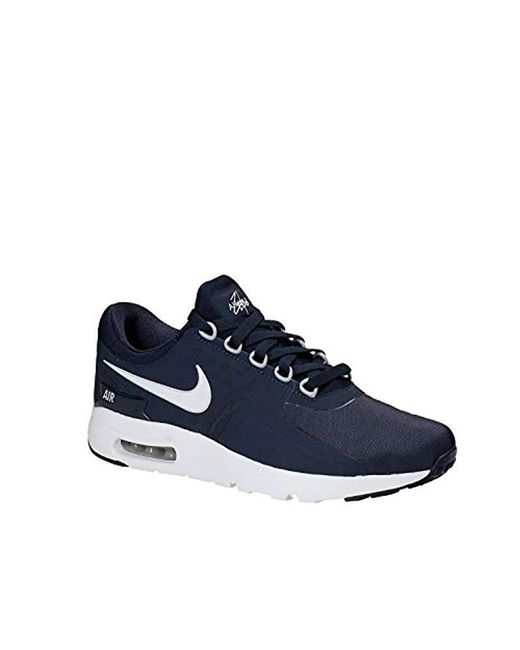8093fb57378b6 Nike Air Max Zero Essential Trainers in Blue for Men - Lyst