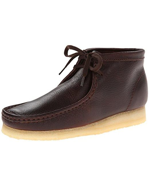 Clarks - Brown Wallabee Chukka Boot for Men - Lyst