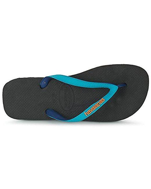 Havaianas - Black Flip Flop Sandals, Top Mix for Men - Lyst