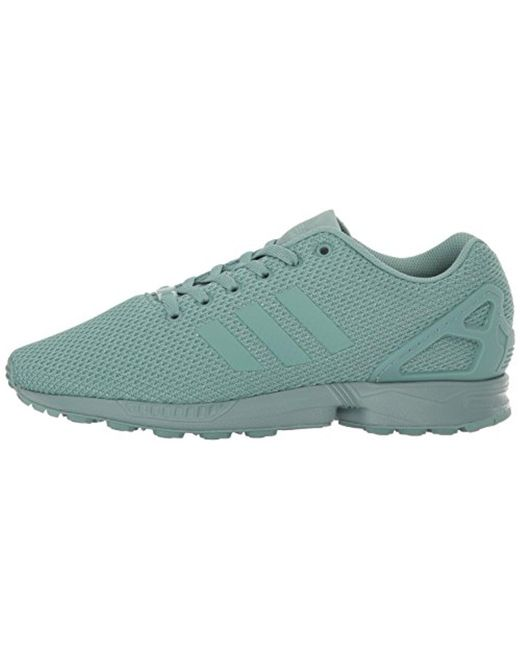 competitive price 0d169 0aa0f Men's Green Zx Flux Fashion Sneaker