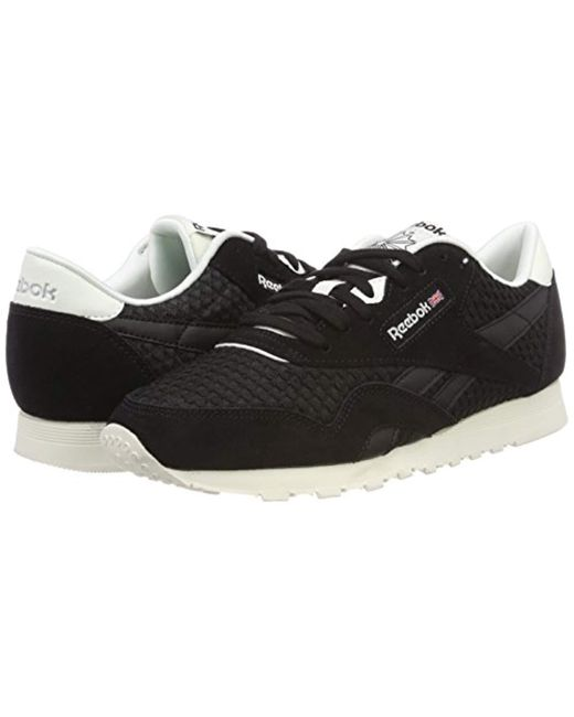 d134add5548 ... Reebok - Black Classic Nylon Mesh Trainers - Lyst ...