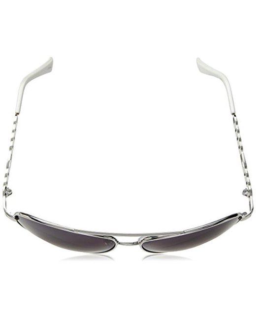 6860948c5b8 ... Sam Edelman - Multicolor Rocawear R566 Slvwh Aviator Sunglasses - Lyst