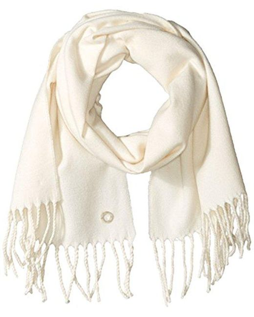 CALVIN KLEIN 205W39NYC - Natural Solid Woven Scarf - Lyst