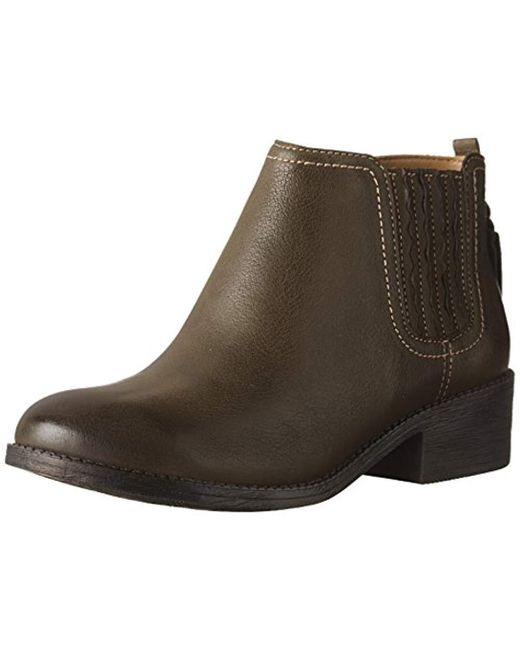Sperry Top-Sider - Green Top-sider Juniper Bree Ankle Bootie - Lyst