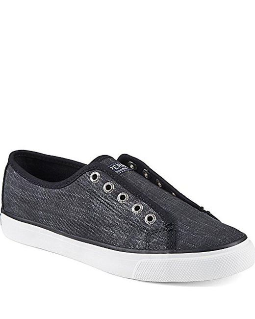 Sperry Top-Sider - Black Seacoast Ripstop Fashion Sneaker - Lyst