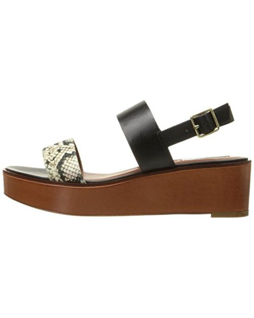 ba70470f20b Lyst - Cole Haan Cambon Platform Dress Sandal in Black - Save 38%