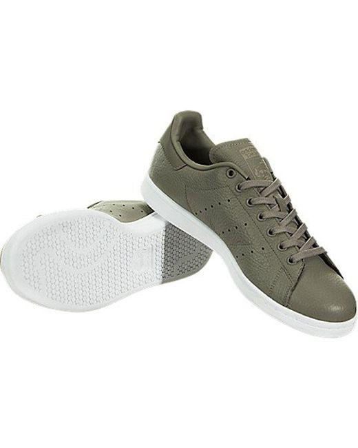 lyst adidas originali stan smith moda sneakers in verde per gli uomini