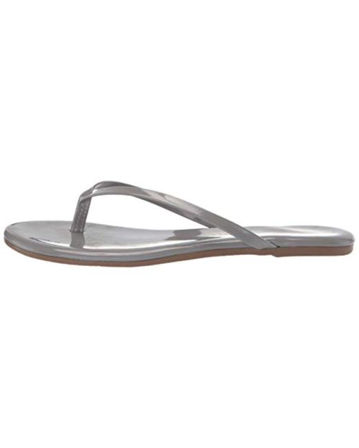 a15ef8f95 ... TKEES - Gray Glosses Flip Flops - Lyst ...