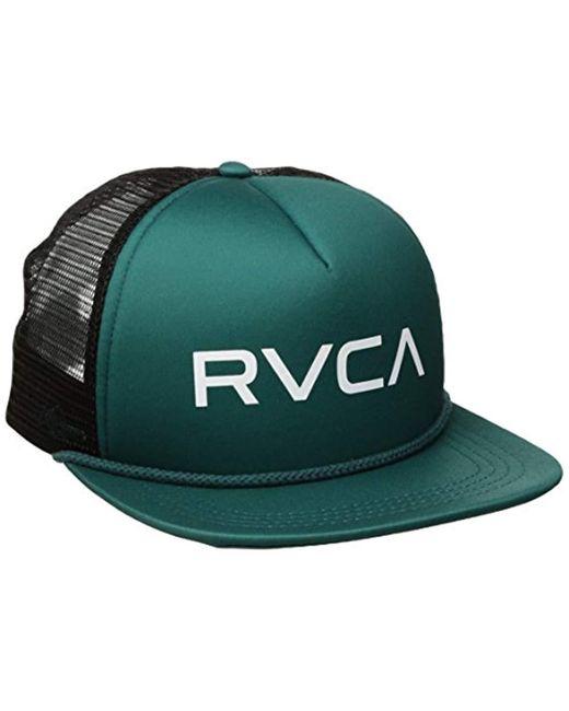 e4fca954dc97f RVCA - Multicolor Foamy Trucker Hat for Men - Lyst ...