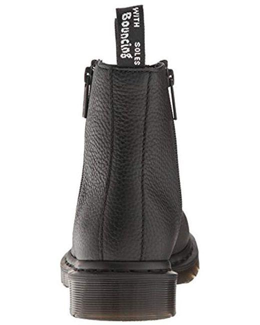 75c0531ea ... Dr. Martens - Black 2976 W/zips Chelsea Boots - Lyst ...