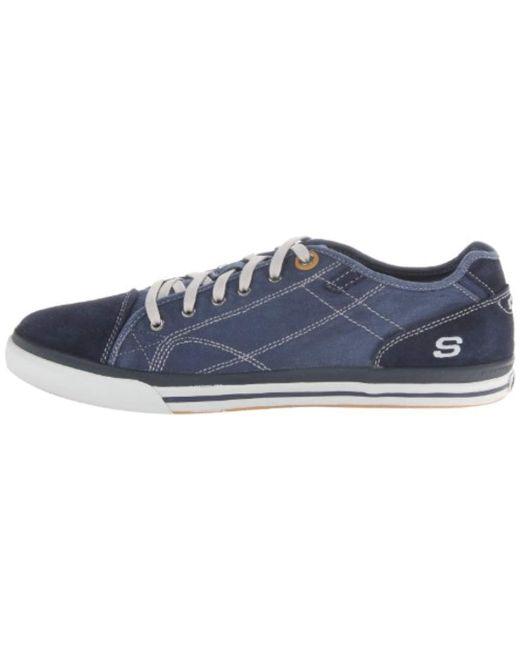 bc9291899ece ... Skechers - Blue Diamondback Levon Shoes for Men - Lyst ...